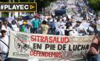 El Salvador: Sindicatos de salud exigen aumento de sueldos