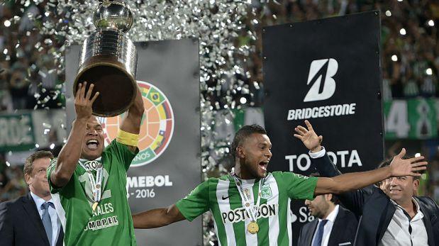 Nacional se coronó campeón de la Copa Libertadores y borja marcó en la semifinal. (Foto: Getty Images)