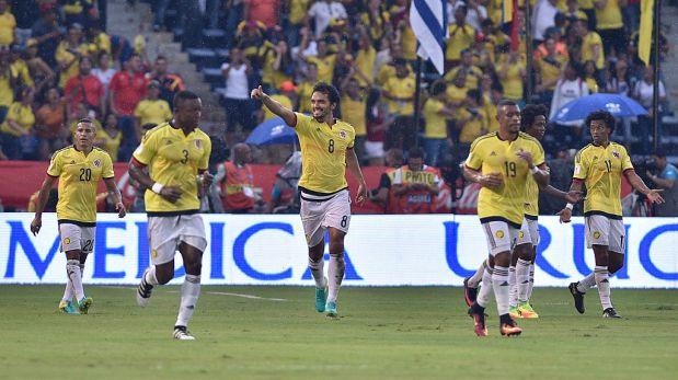 La selección Colombia marcha cuarta en la tabla de clasificación de las eliminatorias a Rusia 2018. (Foto: Getty Images)