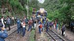 Machu Picchu: anuncian paro contra Perú Rail - Noticias de zujnich garcia