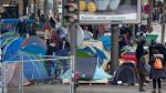 """Francia: Campamentos de refugiados """"crecen de forma alarmante"""" - Noticias de desalojo"""