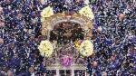 Señor de los Milagros: las postales del cuarto recorrido - Noticias de luis alfonso