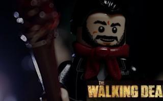 """YouTube: el último episodio de """"The Walking Dead"""" llega a Lego"""