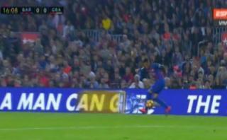 El fantástico control de Neymar luego de genial pase de Messi