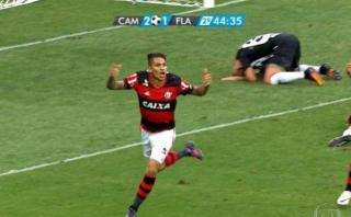 El gol de Paolo Guerrero que evitó derrota de Flamengo [VIDEO]