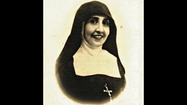 La madre Teresa, la hija del presidente  Candamo, es la creadora de la orden de  las Canonesas de la Cruz. (Foto: Archivo Familiar de la Puente Candamo)