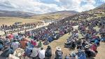 Las promesas que el humalismo no cumplió en Las Bambas - Noticias de paro minero en arequipa