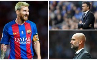 Messi comparó el estilo de Luis Enrique con el de Pep Guardiola