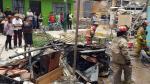 Surco: Incendio se desató en casa por cocina a leña - Noticias de vía expresa
