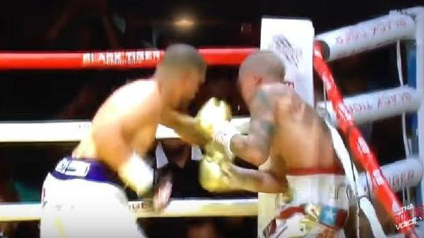 YouTube: boxeador agrede a entrenador rival en pelea [VIDEO]