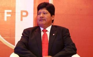 """Edwin Oviedo: """"Es una justicia divina los 3 puntos para Perú"""""""