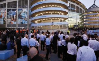 El Etihad Stadium fue evacuado por alarma de incendio