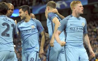 Manchester City venció 3-1 a Barcelona por la Champions League