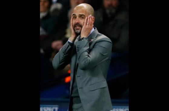 Todos los gestos de Guardiola en el partido contra Barcelona