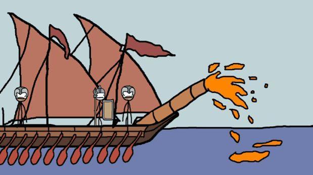 3 armas de la Edad Media explicadas con caricaturas [VIDEO]