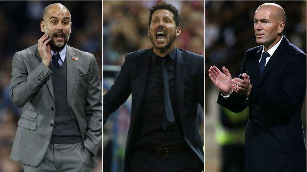 Los 10 nominados por la FIFA al mejor entrenador del 2016