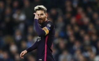 Messi increpó a jugador del City en el túnel de vestuarios