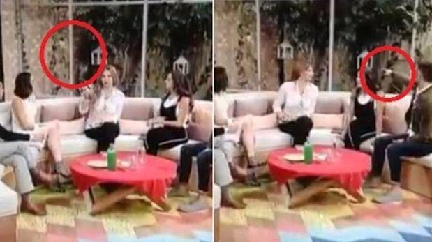 Un fantasma? Una vidente vive un fenómeno paranormal en la televisión