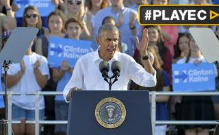 Obama instó a hombres cuestionar el sexismo y votar por Clinton