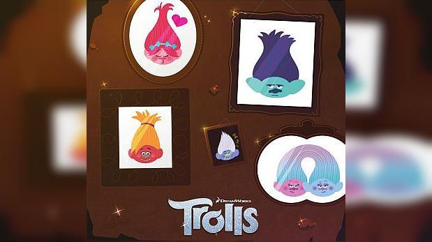 Facebook Messenger presentó su colección de stickers trolls
