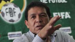 """Presidente de federación boliviana: """"FIFA restituyó los puntos"""""""