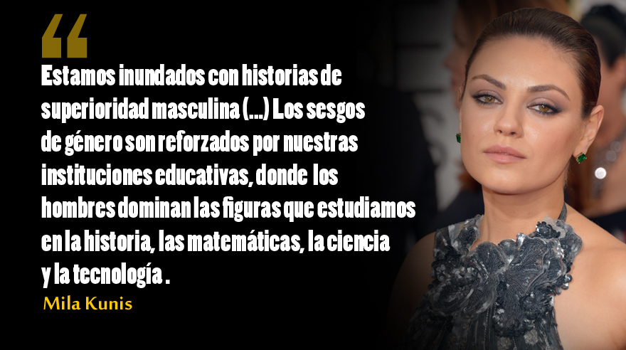 Frases de Mila Kunis. (Foto: AP)
