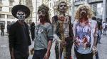 "Brasil: Centenares de ""zombis"" invadieron Sao Paulo [FOTOS] - Noticias de resident evil"