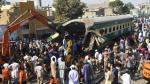 Choque de trenes deja al menos 20 muertos en Pakistán - Noticias de accidente de tren