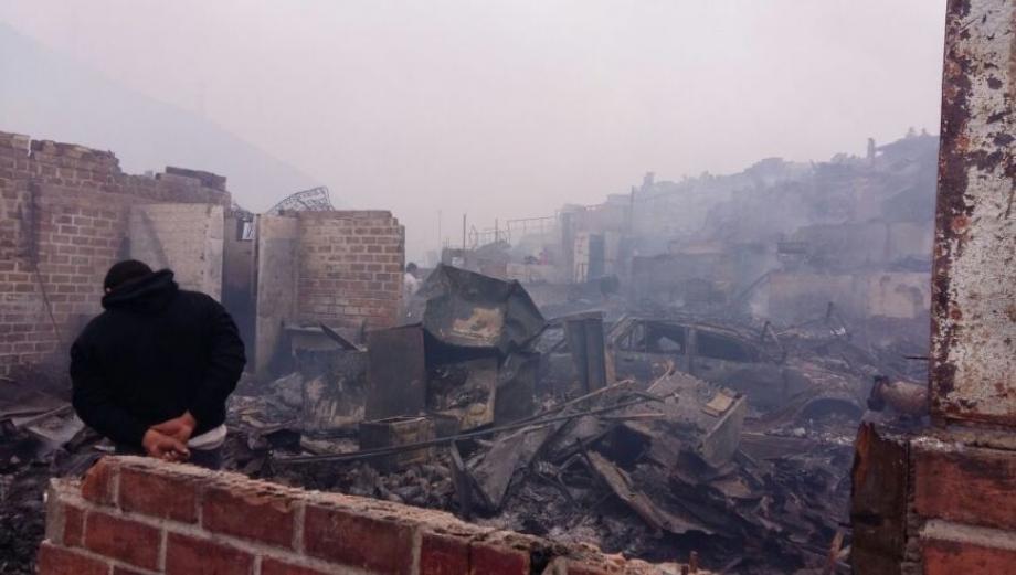Incendio en Cantagallo: la desolación que dejó el fuego [FOTOS]