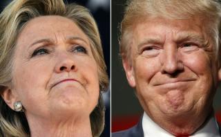 Así llegan Clinton y Trump a su último fin de semana de campaña