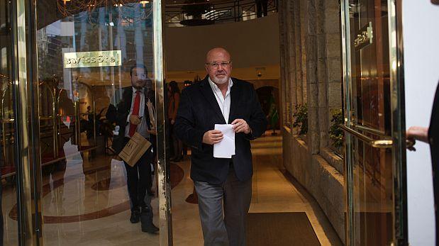 """""""Alfredo Jalilie no está en la planilla del Estado"""", dice Bruce"""