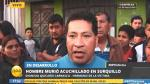 Surquillo: sujeto asesinó a cuchillazos a su padrastro - Noticias de carmen carrasco