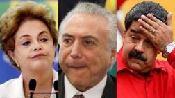 Dilma: Si sancionan a Venezuela, también háganlo con Brasil