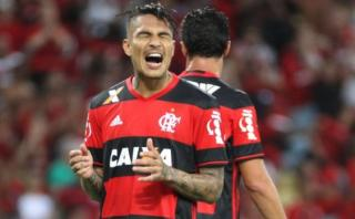 Con Paolo Guerrero los 90', Flamengo empató 0-0 con Botafogo