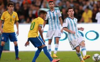 Brasil vs Argentina: fecha, hora y TV del clásico sudamericano