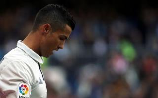 Cristiano firmó su peor arranque goleador en el Bernabéu
