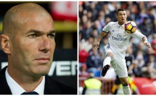 "Zinedine Zidane: ""A Cristiano no le pasa nada, está tranquilo"""