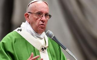 Presos salen de la cárcel para una misa con el Papa Francisco