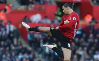 Zlatan Ibrahimovic marcó el gol 25 mil de la Premier League