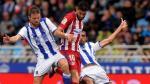 Atlético Madrid perdió 2-0 con Real Sociedad en Liga Española - Noticias de david zurutuza
