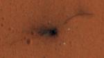Muestran a color la zona de impacto de Schiaparelli en Marte - Noticias de mro
