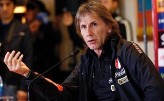 """Ricardo Gareca: """"Es totalmente justo los puntos que tenemos"""""""