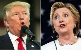 Clinton y Trump endurecen lucha por el control del Congreso