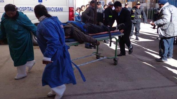 Siete muertos y tres heridos en choque frontal entre dos autos — Moquegua