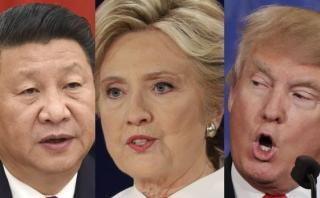 ¿A qué se arriesga China con Clinton o Trump en la presidencia?