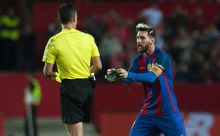 Lionel Messi: Barcelona reclamará por la polémica amonestación
