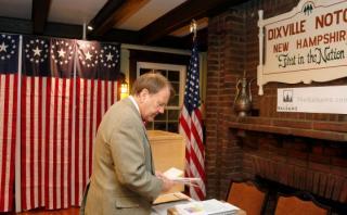 Clinton ganó en el pueblo donde se inició la elección