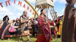 Escenifican leyenda de Manco Cápac y Mama Ocllo en el Titicaca - Noticias de raimond manco