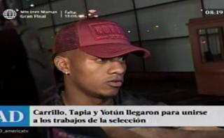 """André Carrillo a su llegada: """"No vengo sumando muchos minutos"""""""