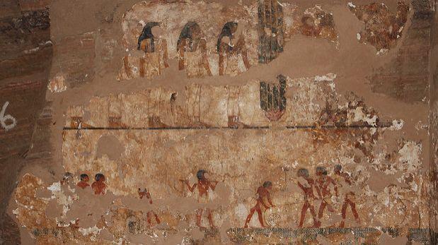 Descubren nueva ruta hacia la tumba de un gobernador egipcio